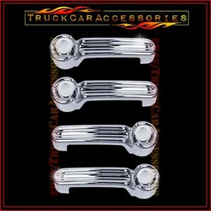 For Jeep Liberty 2008 2009 2010 2011 2012 2013 Chrome 4 Door Handle Covers W O P