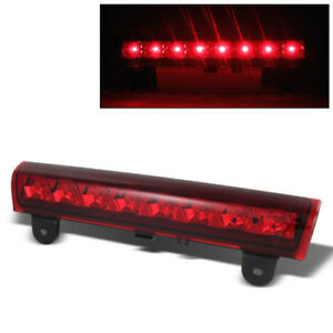 Rear Roof 3rd Third Brake Light Cargo Led For 00 06 Tahoe Suburban Yukon Xl Red