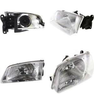 Ma2502116 Headlight For 00 02 Mazda 626 Driver Side