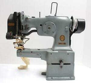 Singer 107w50 Cylinder Bed Zig Zag Ruffler Industrial Sewing Machine Head Only