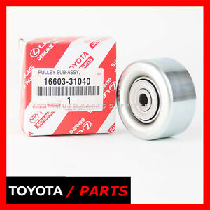 Factory Toyota Serpentine Idler Pulley Fj Cruiser Tacoma 4runner 1660331040 Oem