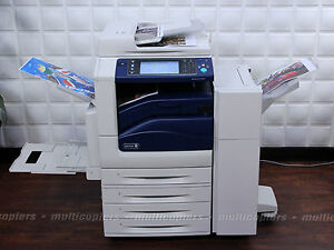 Xerox Workcentre 7835 Color Mfp Copier Printer Fax Scanner Email 7830 7845 7855