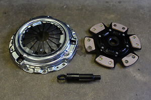 Exedy Stage 2 Pressure Plate Grip 6 Puck Clutch Disc For Honda Acura B Series