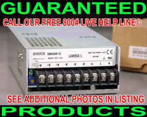New Lambda Sws300 12 12 Volt 0 26a Switching Ac To Dc Regulated Power Supply