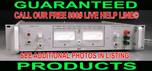 Power Designs Usa 6150 0 60v 0 15a Variable Regulated Metered Dc Power Supply