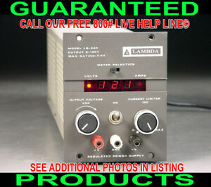 Usa Made Lambda Lq 524 0 120v 0 0 5a Variable Regulated Digital Dc Power Supply