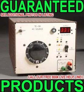 Adjustable Amps Volts Isolated Variable Ac Dc Power Line Supply Equipment Tester
