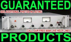 Hp Agilent 6443b 0 120v 0 2 5a Metered Regulated Variable Dc Bench Power Supply