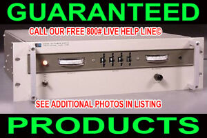Hp Usa 6525a 0 4000v 4kv Variable Regulated Metered High Voltage Dc Power Supply