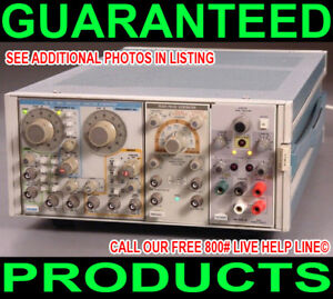 Tektronix Ps 503a Triple Output Bipolar Variable Regulated Dc Power Supply Tm500