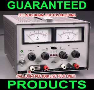 Kikusui Pwc 0620 Triple Output Variable Metered Dc Prototype Lab Power Supply