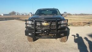 New Ranch Style Front Bumper 11 12 13 14 Chevy 2500hd 3500 Hd