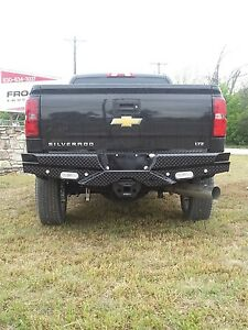 New Frontier Gear Rear Bumper 2015 2016 2017 Chevy 2500hd 3500 Gmc Sierra