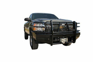 New Ranch Hand Winch Front Bumper 2011 2012 2013 2014 Chevy 2500hd 3500 2500