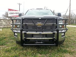 New Frontier Gear Grille Guard Chevy 2500hd 3500 2015 2016 2017 Without Sensors