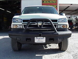New Ranch Hand Bullnose Front Bumper 03 04 05 06 Chevy 2500hd 3500 Silverado
