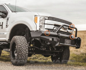 New Ranch Hand Bullnose Front Bumper 2017 2018 Ford F250 F350 F450 F550
