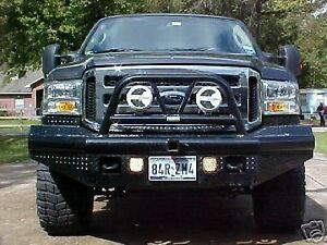 New Ranch Hand Bullnose Front Bumper 05 06 07 Ford F250 F350 2005 2006 2007