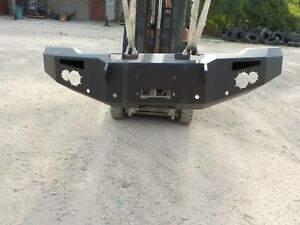 New Fab Fours Premium Heavy Duty Front Bumper Gmc 1500 2014 2015 With Sensors