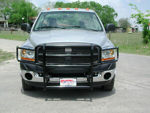 New Ranch Hand Grille Guard 03 04 05 06 07 08 09 Dodge Ram 2500 3500 Ggd061bl1
