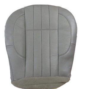 2000 Jeep Cherokee Classic Passenger Side Bottom Leather Seat Cover Gray