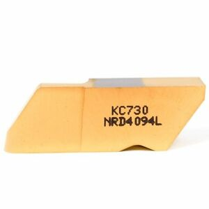 Kennametal Carbide Grooving Insert Nrd4094l Kc730 1114395 5 Pack