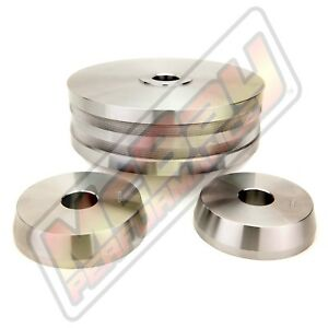 3 Pc Light Truck Hubless Rotor Cone Adapter Set 1 Arbor Brake Lathe Ammco 9312