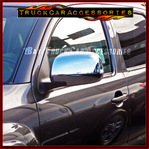 For Toyota Tacoma 2005 2006 2007 2008 2009 2010 Chrome Full Mirror Covers Pair