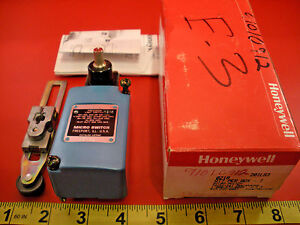 Honeywell Microswitch 201ls3 Limit Switch 10a Lsz52c Roller Lever Arm 0219 New