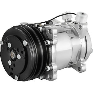 A c Ac Compressor And Clutch For Sanden Sd508 Model Brand New 8 Groove