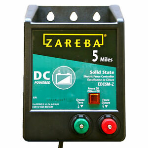 Zareba Edc5m z b5 5 Mile Battery Operated Solid Fence Charger