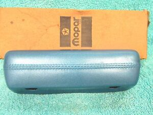 1967 72 Chrysler Plymouth A Body Blue Front Door Armrest Nos Mopar 817