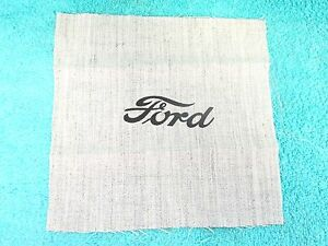 1934 36 Ford Radio Speaker Ashtray Cover Cloth New 817