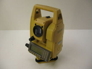 Topcon Gts 605 5 Total Station Only Surveying 1 Month Warranty