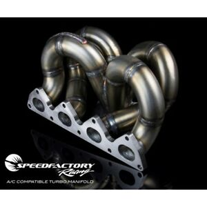 Air Conditioning Compatible Turbo Manifold Acura Integra Honda Civic Ramhorn T3