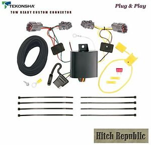 4 Way Flat Trailer Hitch Wiring For 2010 2017 Kia Soul All 118637