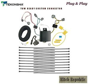 4 Way Flat Trailer Hitch Wiring For 2016 2018 Toyota Tacoma All Styles 118685