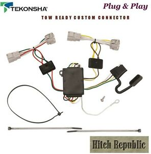 4 Way Flat Trailer Hitch Wiring For 2005 2015 Toyota Tacoma Pickup 118496