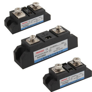150a 200a 400a Single Phase Solid State Relay Dc 3 32vdc To Ac 24 480vac