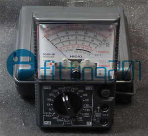 Made In Japan Hioki 3030 10 Analog Multimeter Hitester