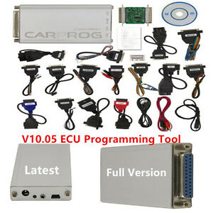 Latest V10 05 Carprog Full Version W All 21 Item Adapter Car Ecu Prog Programmer