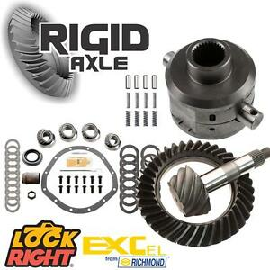 Gm 8 875 12 Bolt Truck Lock Right Posi Package 4 10 Richmond Ring Pinion Gear