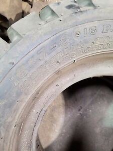 2 Tires 18x7x8 Forklift Tires Tubes And Flaps