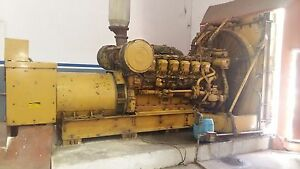 Used Cat 3512 B Land Electric Generator 50 Hz 400v 3 Phase