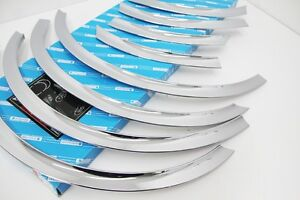 Chrome Tire Fender Molding Garnish 8p For Hyundai Accent Solaris 4d 2011 2014