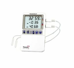 Thomas Traceable Hi accuracy Monitoring Thermometer Supplied With 2 Probe And