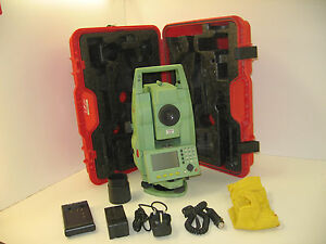 Leica Tcr805 5 Total Station Only For Surveying One Month Warranty