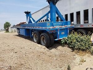 Transport Trailer Trlmo Flatbed Type 42 Length Attached Is A Wing Fixture