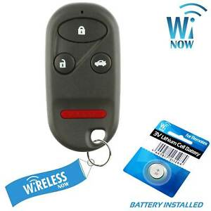 Car Key Fob Keyless Remote 4b For 1997 1998 1999 2000 2001 2002 Honda Accord