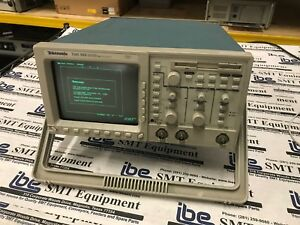 Tektronix Tds 360 2 Channel Real time Oscilloscope 200 Mhz